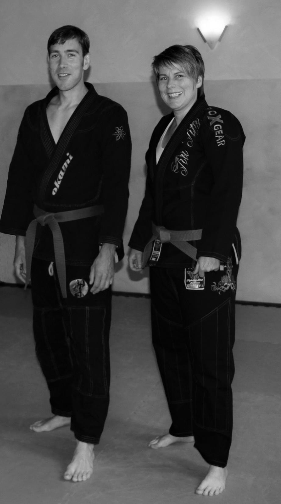 Trainer Benjamin und Tanja