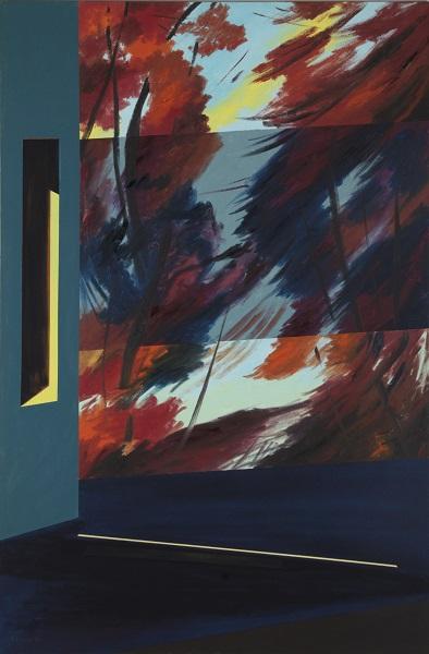 (Huile sur toile, 120 x 80 cm.) Ksenia Milicevic