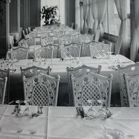 La salle à manger (détail)