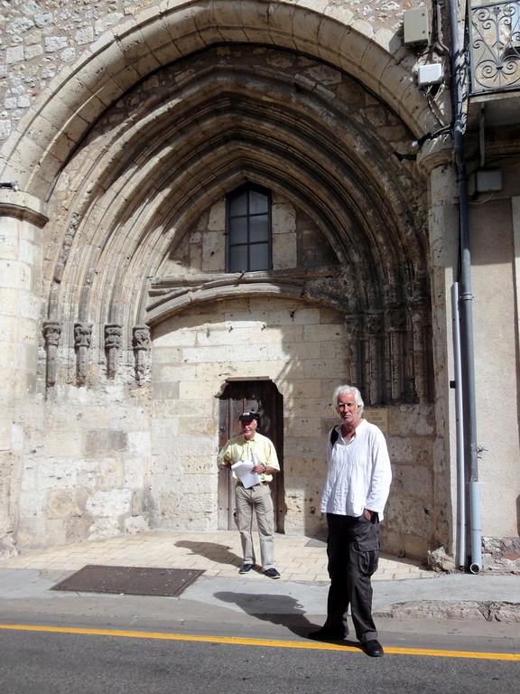 Le portail des Cordeliers, anciennement Eglise et couvent des Cordeliers