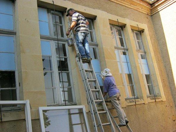 Architecture - Il a fallu assombrir les fenêtres