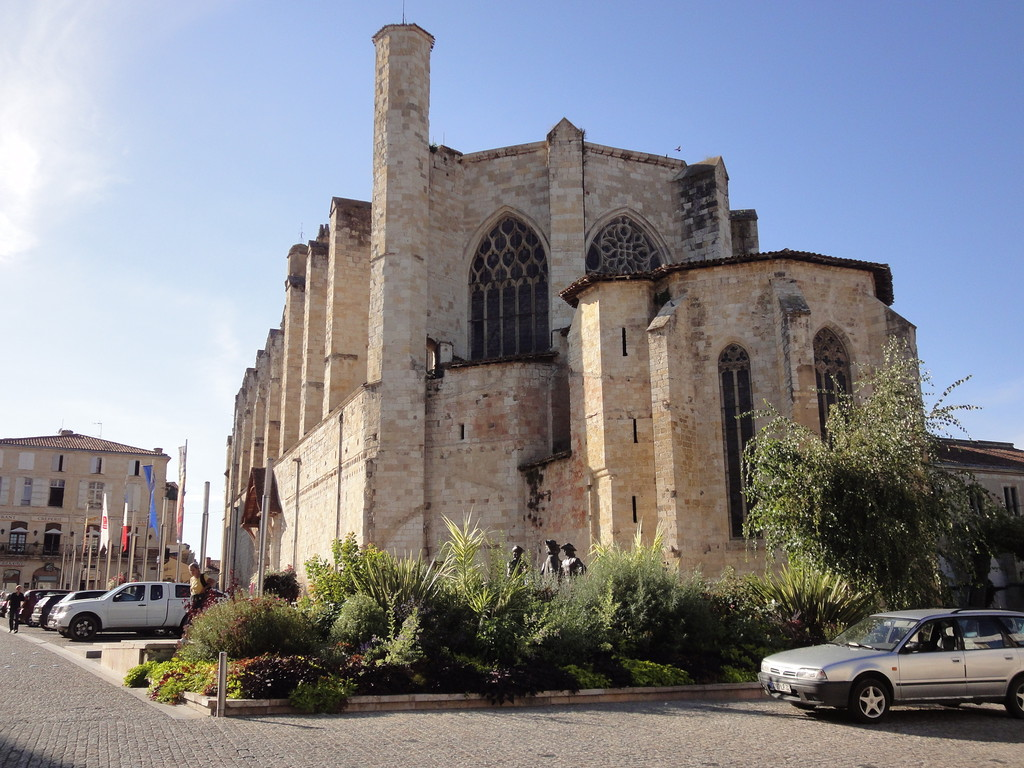 La cathédrale Saint-Pierre de Condom verso