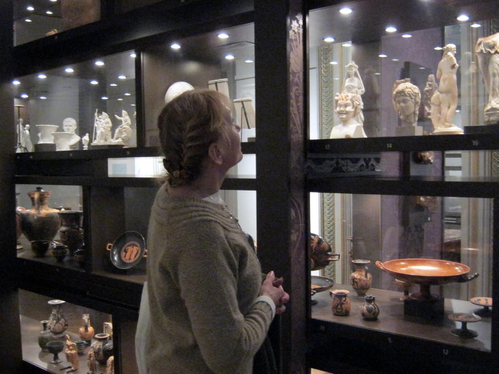 Vases et statues grecs