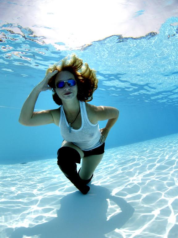Unterwasser Erotik, Lady Cool