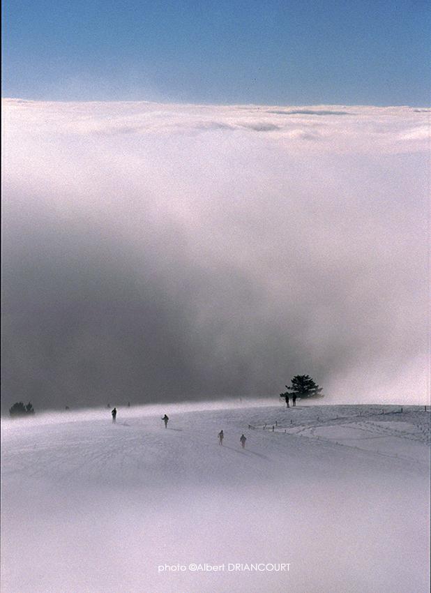 Mer de nuages au Semnoz