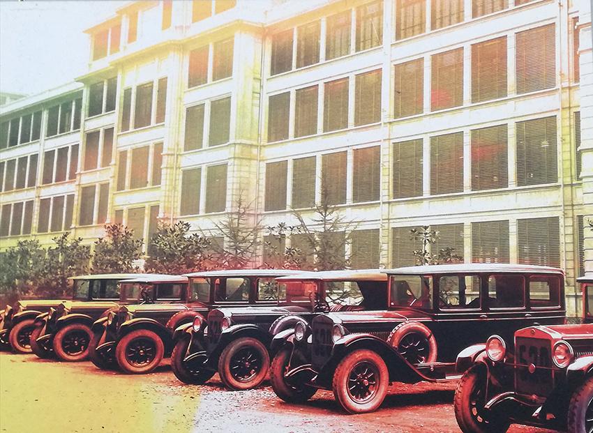 ...inaugurée en 1923, elle a été l'un des principaux site de production de la marque jusqu'en 1982
