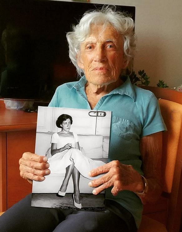 60 ans entre ces 2 photos