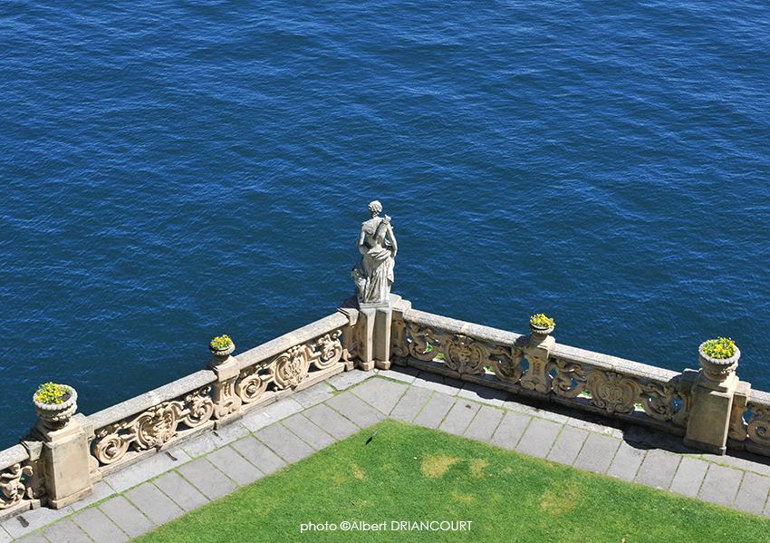 Créer une composition en isolant un détail, Isola Bella, Lac Majeur, Italie