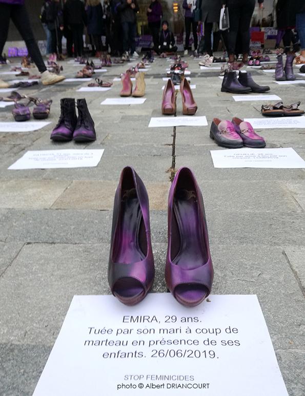 l'année dernière, un hommage émouvant aux femmes mortes dans l'année