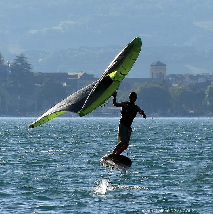 Nouvelle glisse sur le lac