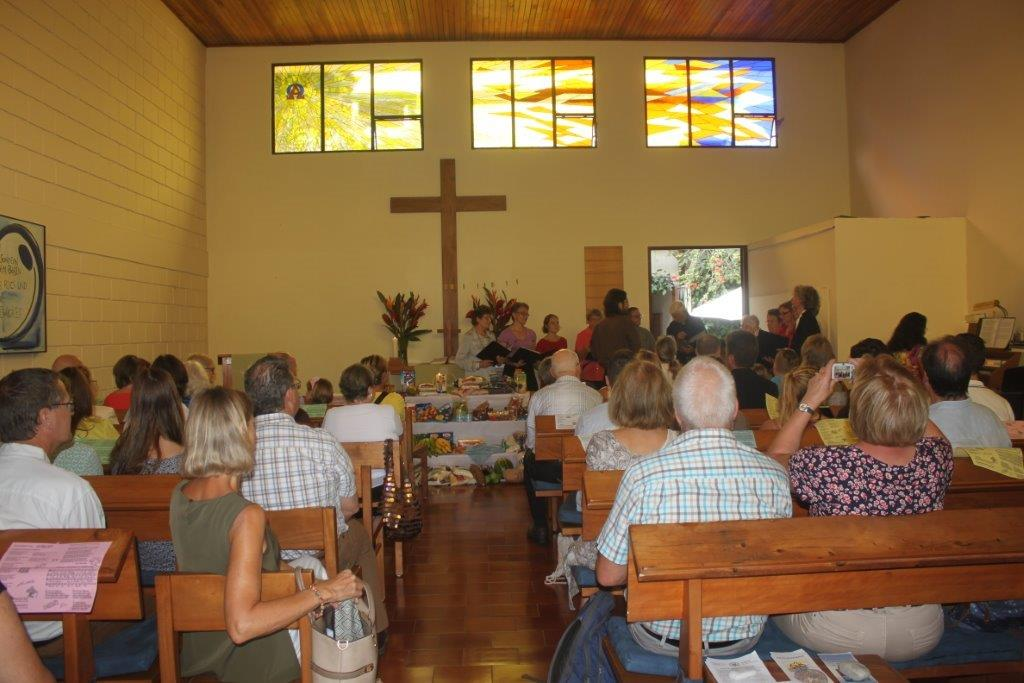 Volles Haus in unserer Kirche