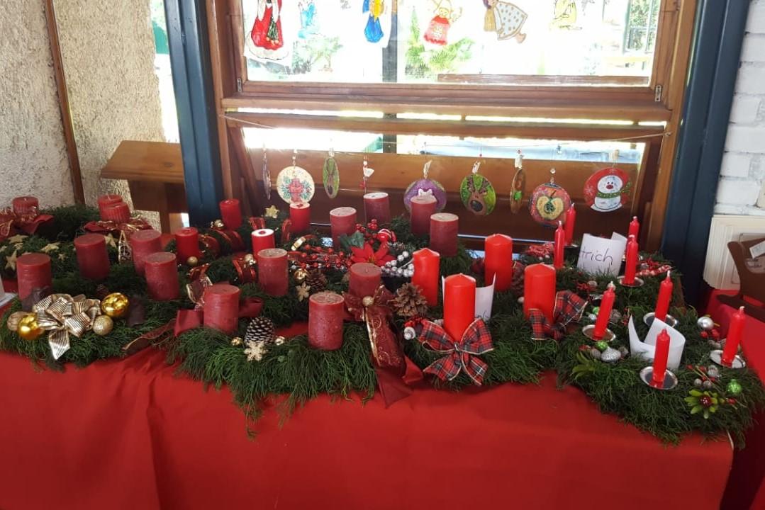 1. Advent + Adventsbasar
