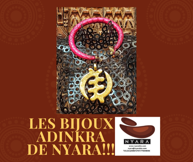 Les bijoux ADRINKA de NYARA