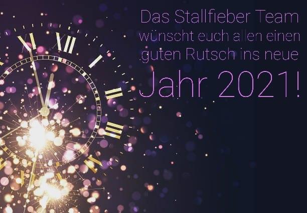 Guten Rutsch ins neue Jahr 2021!