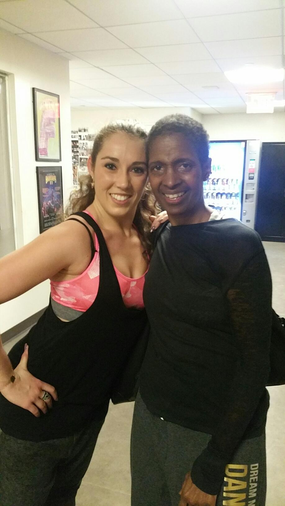 Classe Jazz avec Sheila Barker
