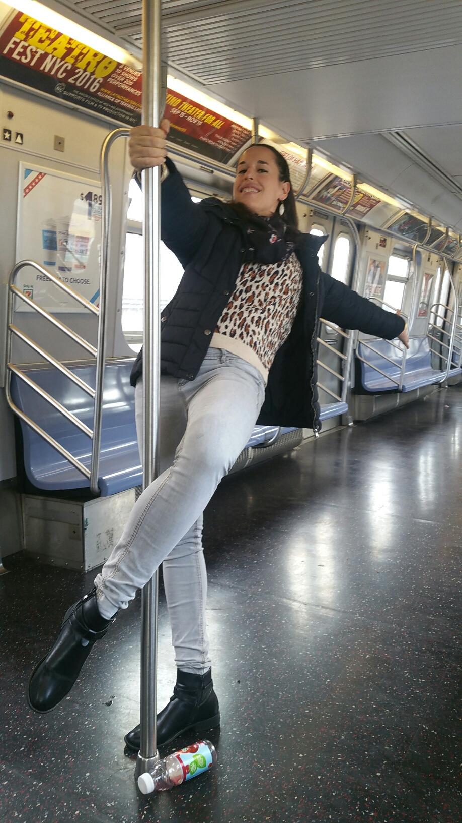 Vanou dans le métro