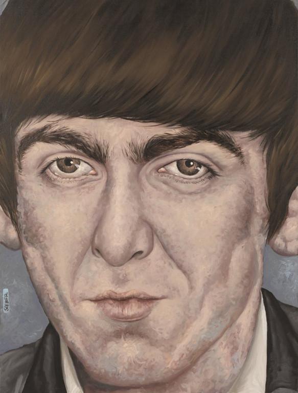 Gemälde 362  George   Acryl auf Leinw.,2010,   60 x 80 cm