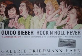 Rock n Roll Fever  Galerie Friedmann-Hahn ,Berlin  60 x 85 cm  Kleine Auflage