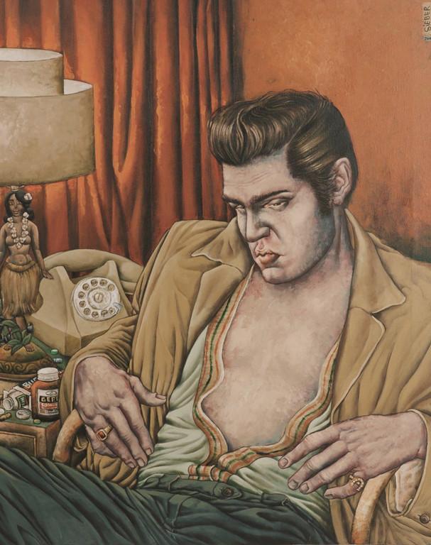 Gemälde 172  Dream Boy   Acryl auf Leinw.,2006,   80 x 100 cm