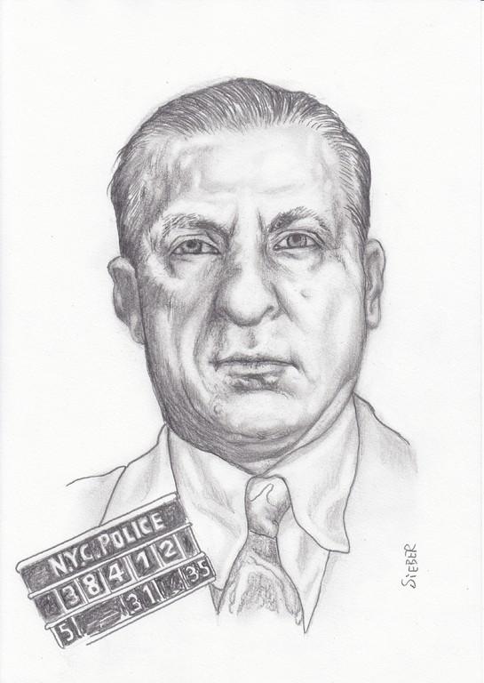 Zeichnung 426  Frank Costello  Graphit  auf Karton,2012,  21x30 cm