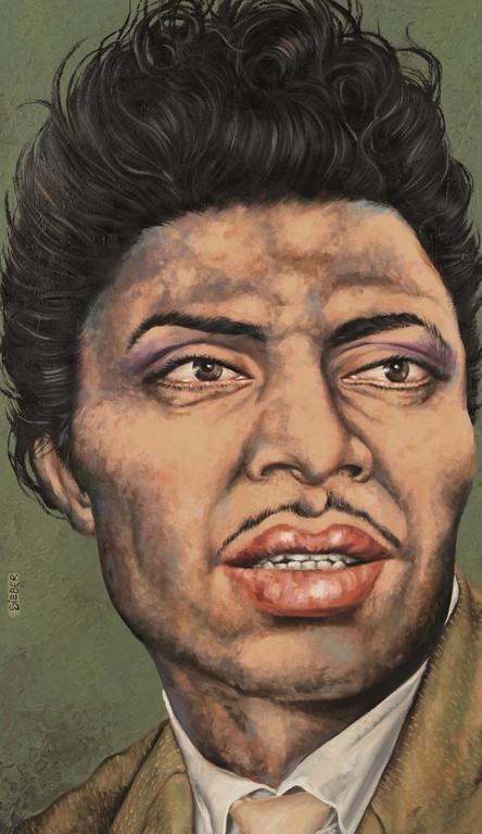 Gemälde 335  Richard Wayne Penniman   Acryl auf Leinw.,2009, 70 x 120 cm