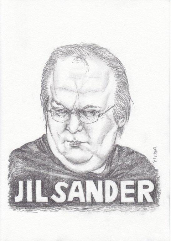 Zeichnung 449  Jil Sander  Graphit  auf Karton,2011,  21x30 cm