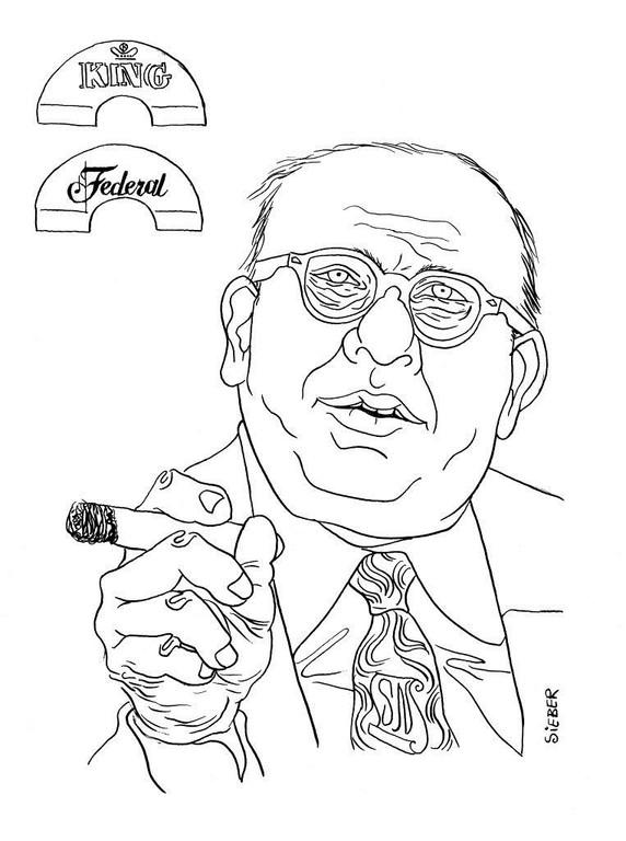 Zeichnung 278  Syd Nathan  Tusche auf Karton,2010, 25 x 32,5 cm