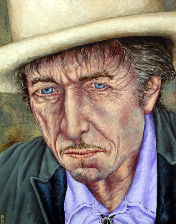 Gemälde 397  Behind the Blue   Acryl auf Leinw.,2011,  80 x 100 cm