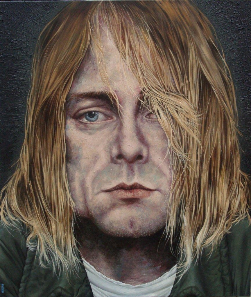 Gemälde 352  Nirvana   Acryl auf Leinw.,2010,  130 x 150 cm