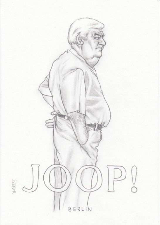 Zeichnung 455  Joop  Graphit  auf Karton,2011,  21x30 cm