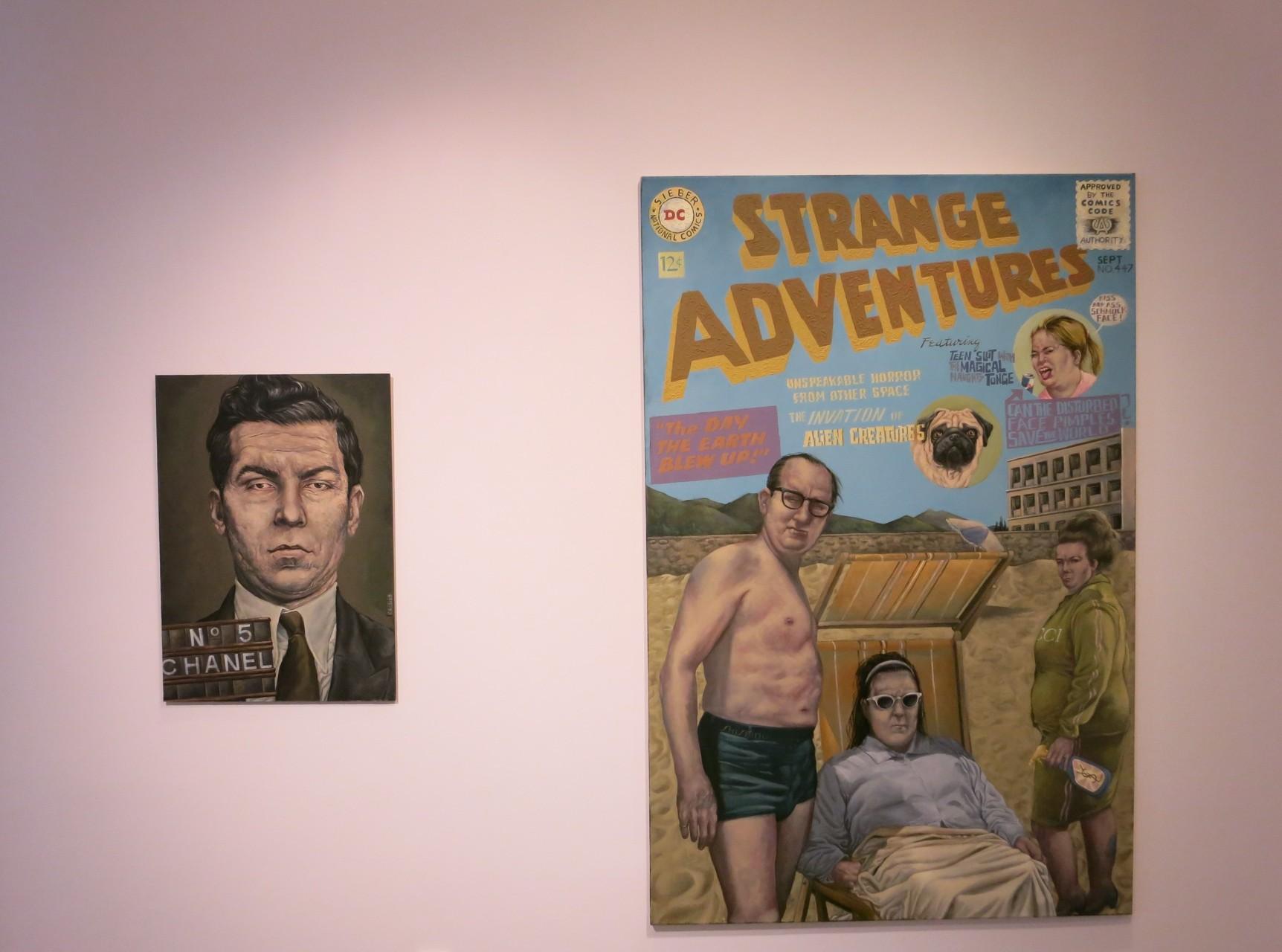 Galerie Friedmann-Hahn- Strange Adventures ,2016