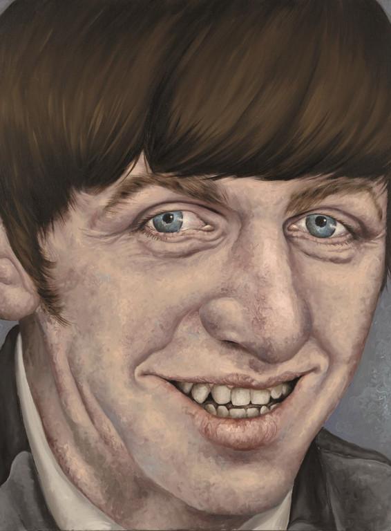 Gemälde 359  Ringo   Acryl auf Leinw.,2010,   60 x 80 cm