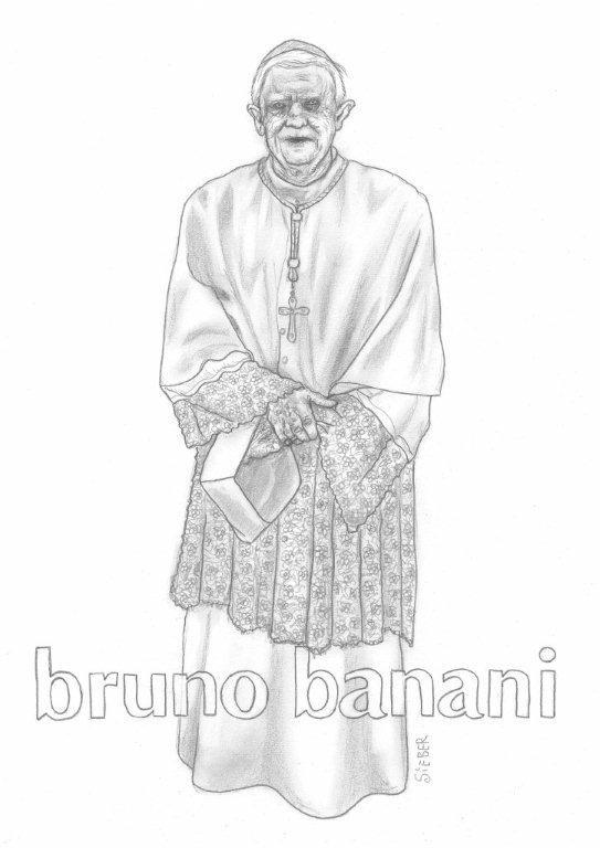 Zeichnung 434  Bruno Banani Graphit auf Karton,2011,  30x42 cm