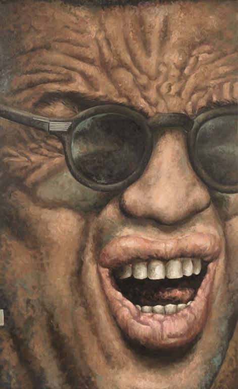 Gemälde 358  Ray   Acryl auf Leinw.,2010,    80 x 130 cm