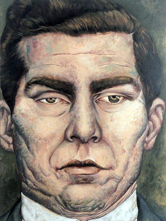 Gemälde 173  Lucky L.  Acryl auf Leinw.,2006, 90 x 120 cm