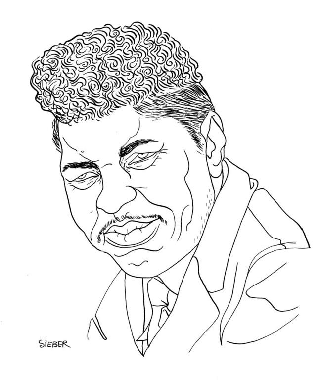 Zeichnung 340  Ted Taylor  Tusche auf Karton,2010, 25 x 32,5 cm