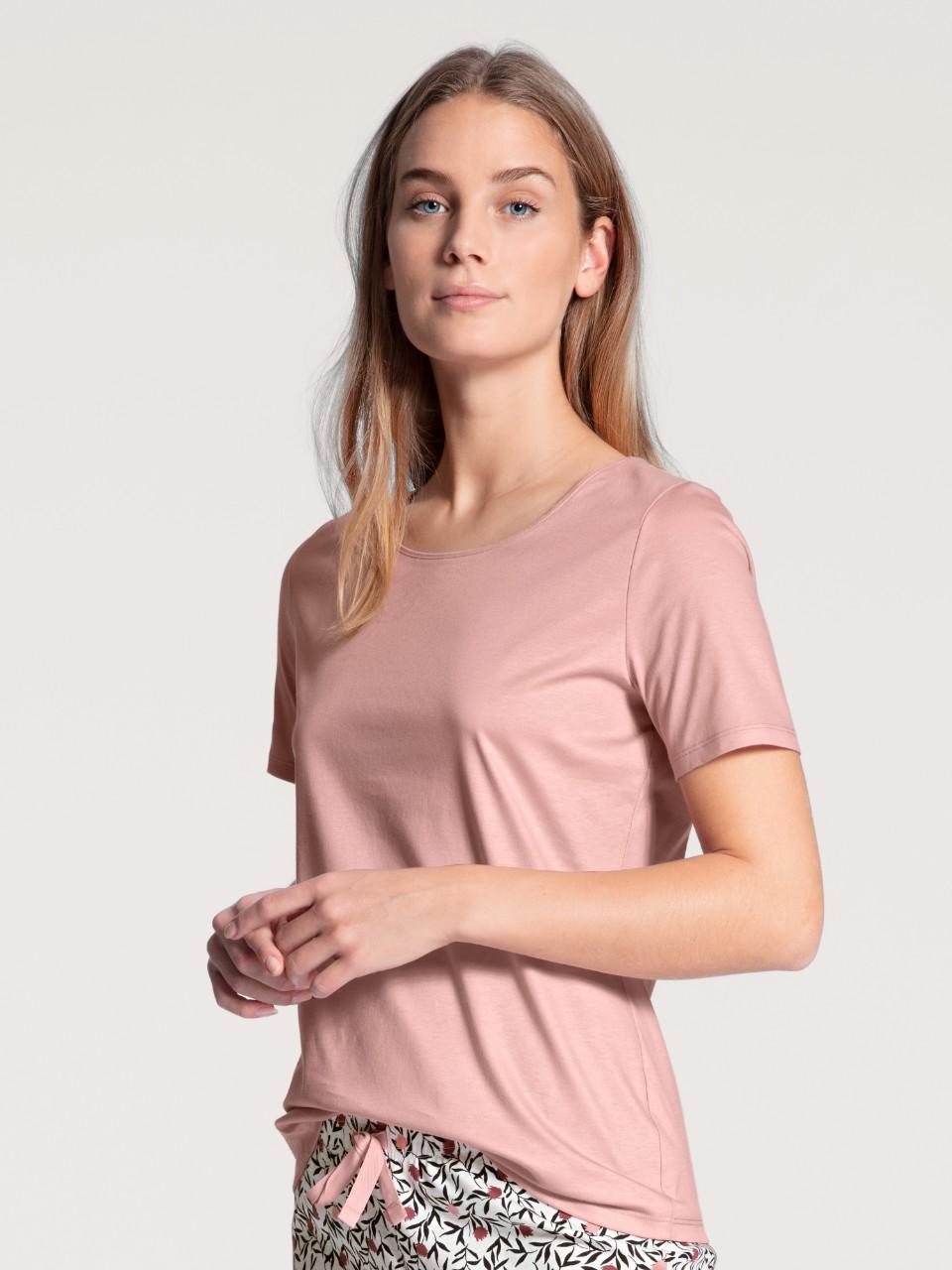 14038 251 tee-shirt vieux rose 100% coton supima Prix : 39.95 €