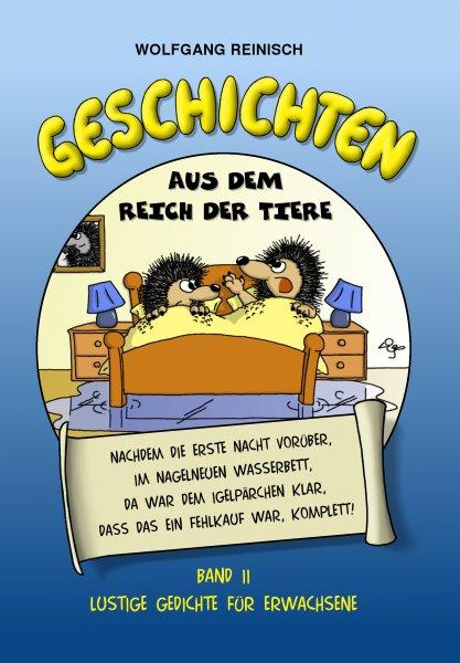280 lustige Tiergedichte für Erwachsene  von Wolfgang Reinisch