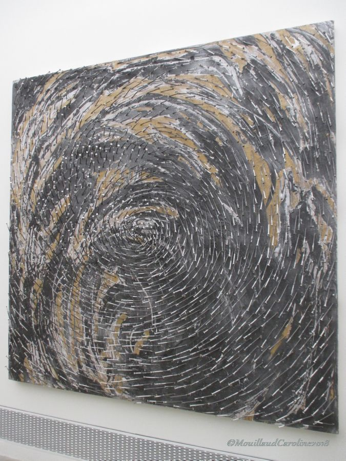 Spirale 1  2002, Gunter Uecker