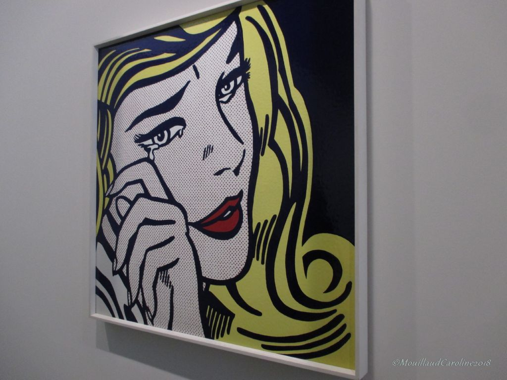 Crying girl 1964, Roy Lichtenstein