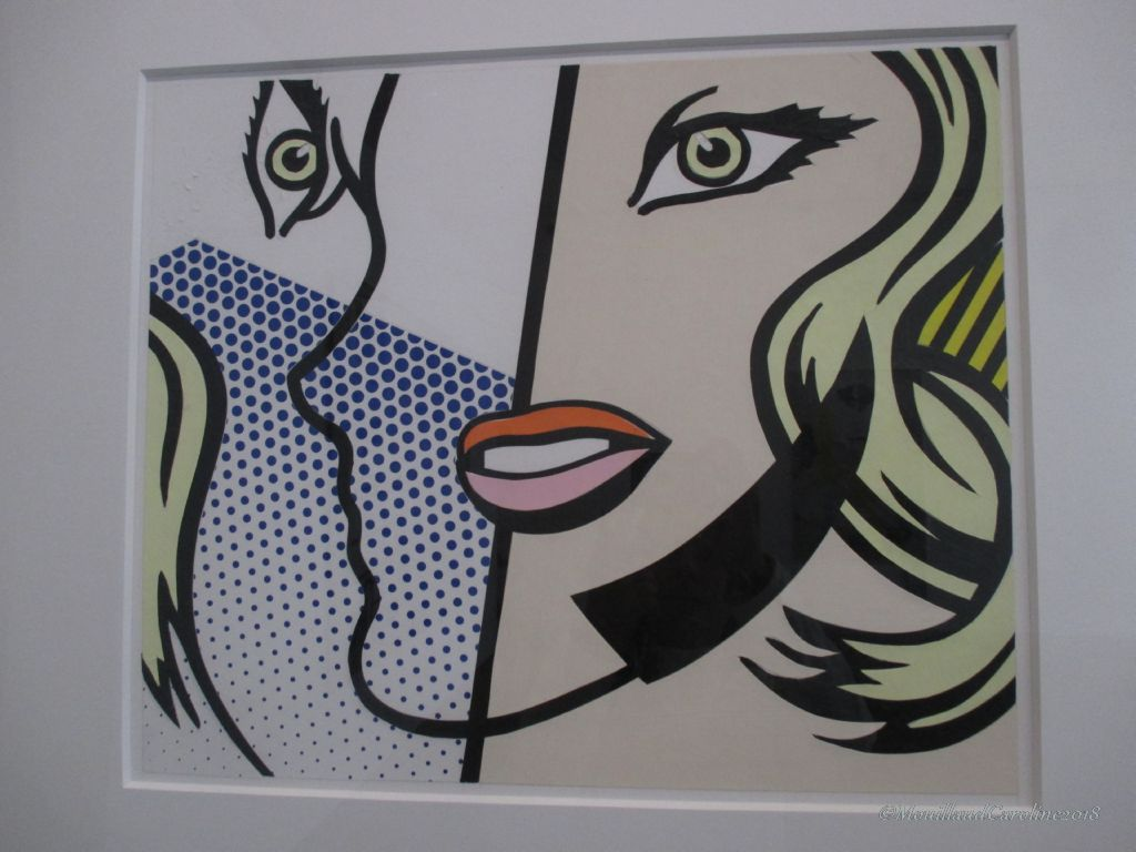 Untitled Head (Cal Arts Print) 1994, Roy Lichtenstein