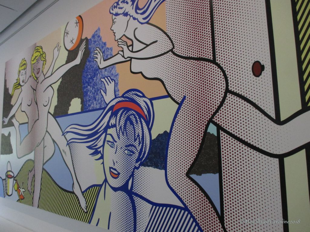 Beach Scene with Starfish 1995, Roy Lichtenstein, collection Beyeler
