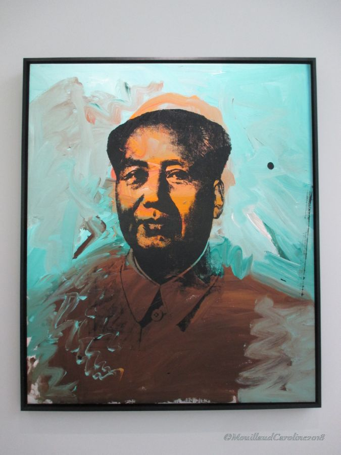 Mao 1973, Andy Warhol
