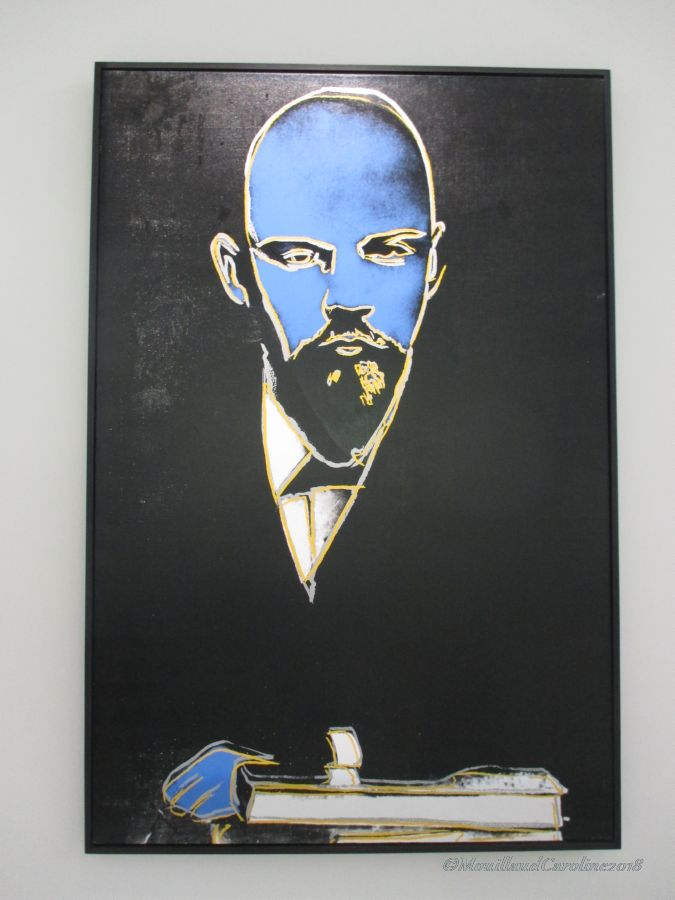 Lenin 1986, Andy Warhol