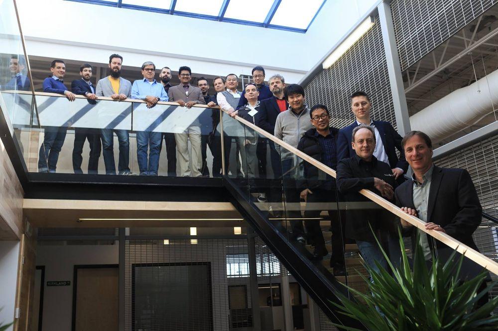 Unser Team während der Reseller- Konferenz im Global Vision HQ in Montreal, 2018