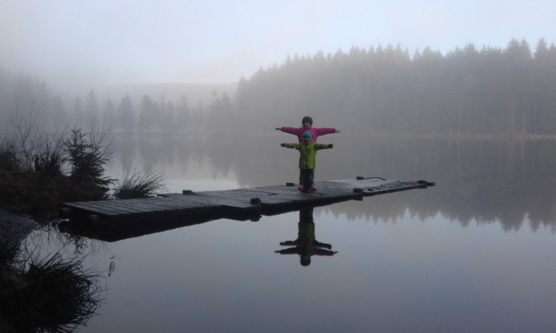 Libellenkinder am Nebelsee