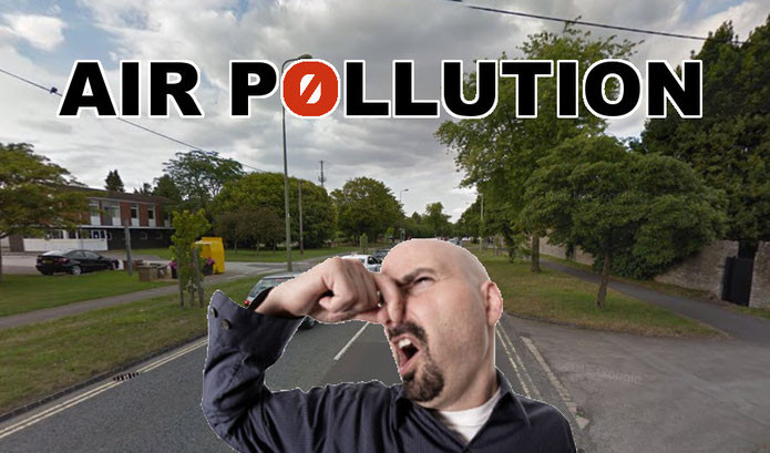 Long term poor planning and lack of infrastructure is causing dangerous levels of pollution in Bicester