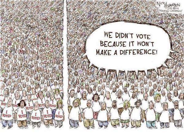 Your vote does matter!