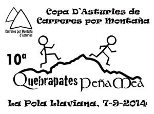 X QUEBRAPATES PEÑA MEA, Pola de Laviana, 07-09-2014