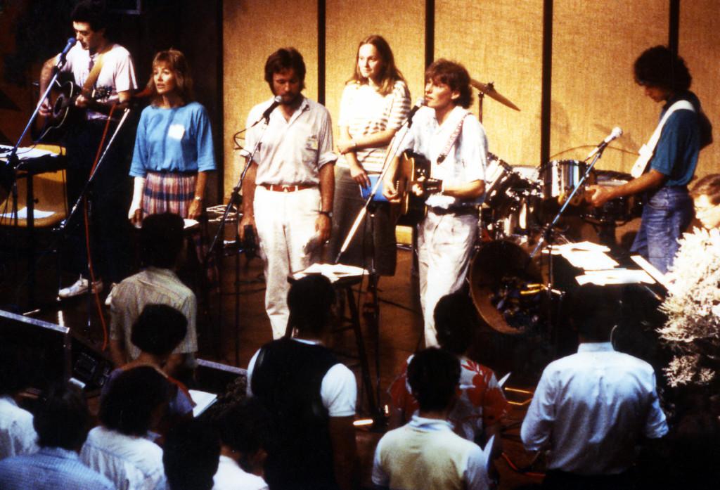 Lobpreisfest 1987 vor 500 Besuchern in Wien